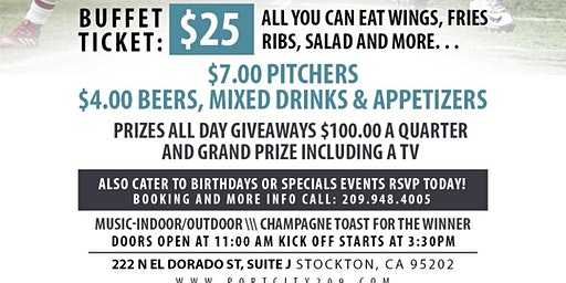 Super Bowl Party at Port City Sports Bar and Grill