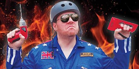 Stunt Magician - Danger Dave Reubens - Monthly Show! tickets