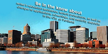 Portland Landlord-Tenant Law Training for Case Managers - May 29th 2020 tickets