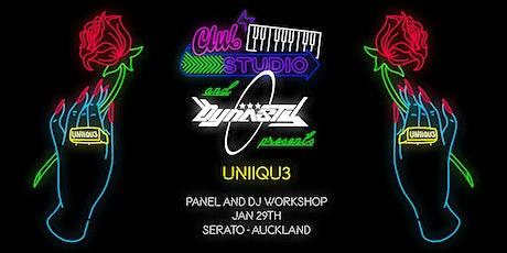 Stripped Back: Panel & DJ Workshop ft UNiiQU3 tickets