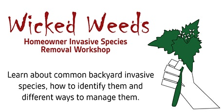 Wicked Weeds: Homeowner Invasive Species Removal Workshop tickets
