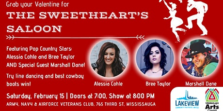 MAC x Lakeview Village: The Sweetheart's Saloon tickets