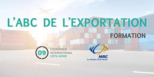 L'ABC de l'exportation