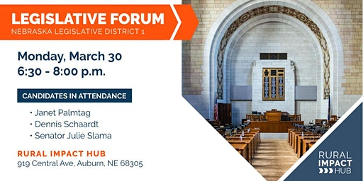 Legislative Forum for Nebraska District 1