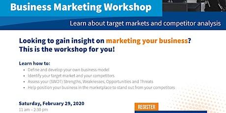 Business Marketing Workshop tickets