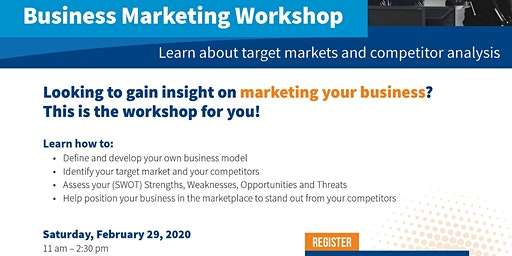Business Marketing Workshop