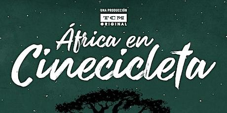 ÁFRICA EN CINECICLETA - Documental y Coloquio con l@s protagonistas entradas
