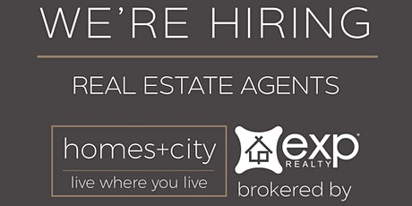 Homes+City Real Estate Team Career Night - Brokered eXp Realty tickets