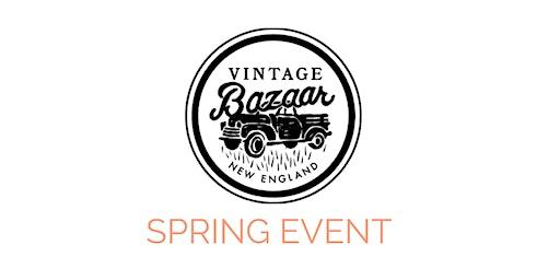 Vintage Bazaar New England Spring Event