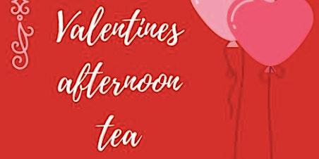 Valentines Afternoon Day Tea