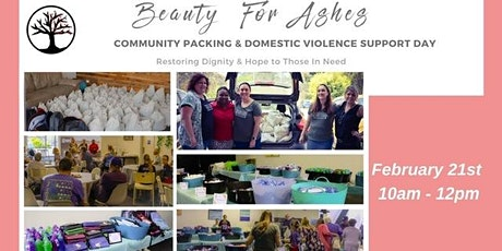 Beauty for Ashes Community Packing & Domestic Violence Support Day tickets