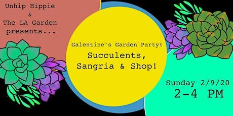 Succulents & Sangria tickets