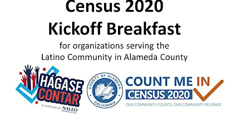 2020 Census Kickoff Breakfast with Census 101 Training tickets