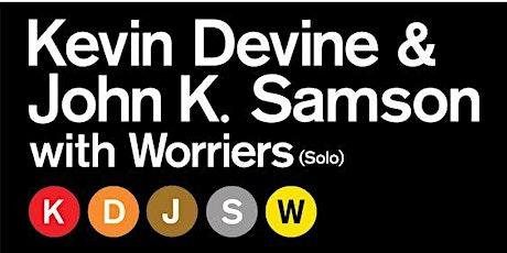 John K. Samson & Kevin Devine  w/ Worriers tickets