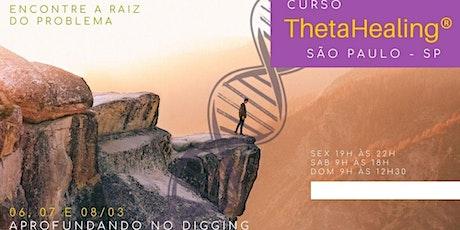 SP: 06, 07 e 08/03-ThetaHealing® Aprofundando no Digging ingressos