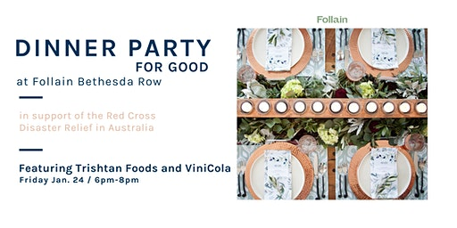 Winter Dinner Party for Good: Featuring Trishtan Foods x ViniCola