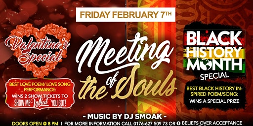 Meeting of the Souls Valentine + Black History Month Special