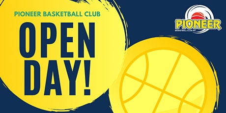 Pioneer Basketball Club Open Day 2020 tickets