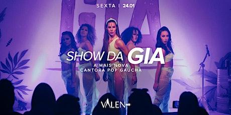 Show da Gia   Valen Bar ingressos