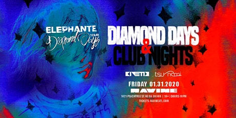 Elephante: Diamond Days & Club Nights at Ravine tickets