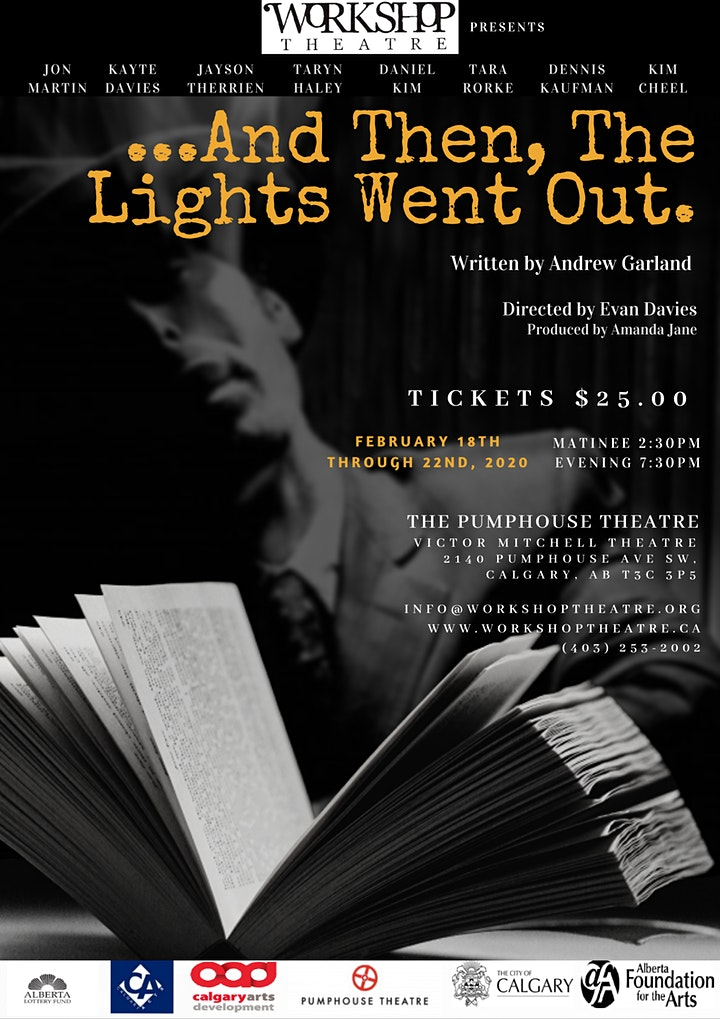 Workshop Theatre Presents:  And Then, The Lights Went Out. image