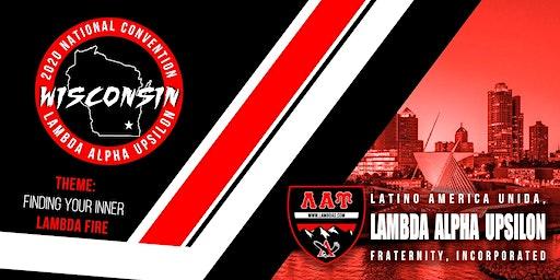 Lambda Alpha Upsilon Fraternity, Inc.: 2020 National Convention