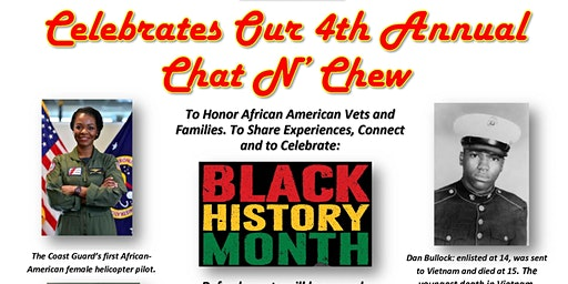Black History Month Chat N' Chew