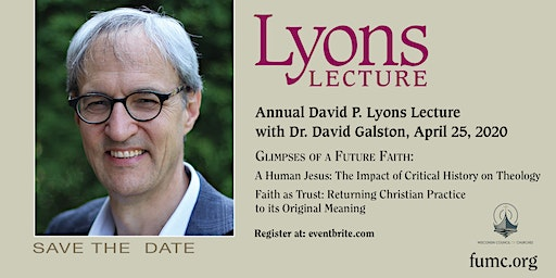 Lyons Lecture 2020 with David Galston