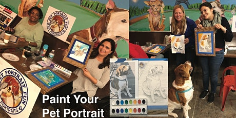 Paint and Sip Valentines Party Pet Portrait Fun tickets