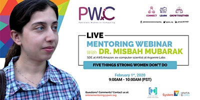 PWiC Live Mentoring: Five Things Mentally Strong Women Don't Do