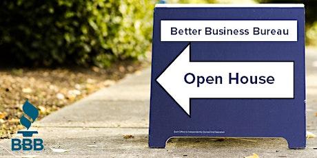Better Business Bureau Open House  tickets
