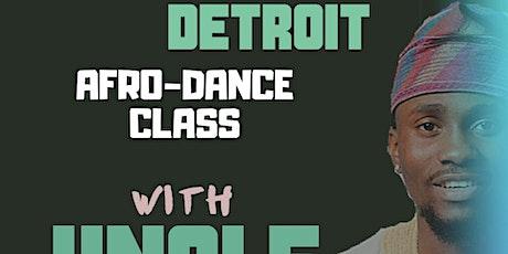 AFRO-DANCE CLASS W/UNCLE AZEEZ (DETROIT) tickets