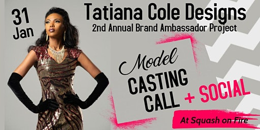 Model Call & Happy Hour Social