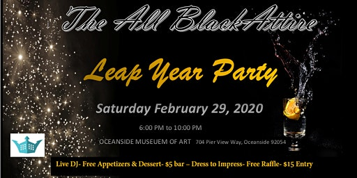 The All Black Attire ~ Leap Year Party