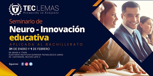 SEMINARIO NEURO-INNOVACIÓN EDUCATIVA APLICADA AL BACHILLERATO