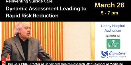 Reinventing Suicide Care: Dynamic Assessment Leading to Rapid Risk Reduction tickets