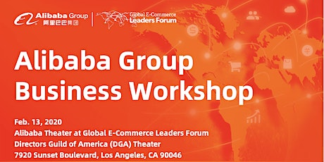 Alibaba Group Business Workshop tickets