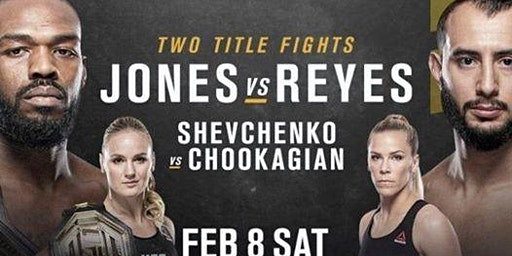 UFC 247 featuring Bone Jones at the Port City