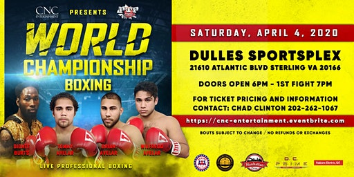 Big-time boxing in the DMV!
