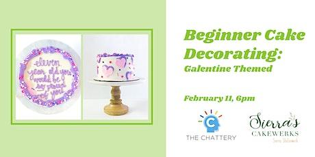 Beginner Cake Decorating: Galentine Edition tickets