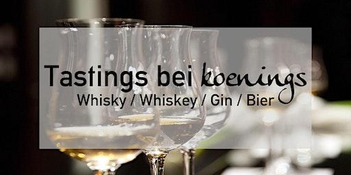 Whiskytasting - Fassreifungen & Finishes