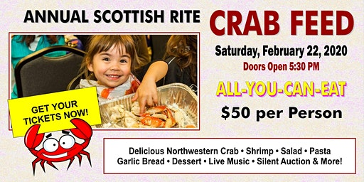 CRAB FEED EXTRAVAGANZA - All You Can Eat Crab & Shrimp! Wow!
