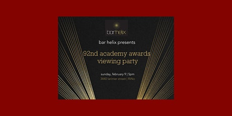 bar helix presents: an oscar viewing party tickets