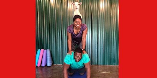 Indoor Goat Yoga by Shenanigoats - Nashville, Sun. @10:30am