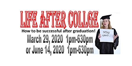 Life After College - A seminar for graduating seniors