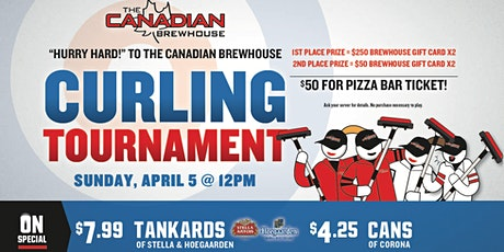 Leduc  Curling Tournament! tickets
