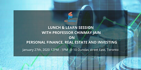 Lunch & Learn  - Personal Finance, Real Estate and Investing tickets