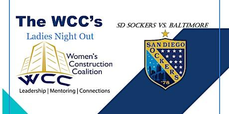 WCC & San Diego Sockers Group Night tickets