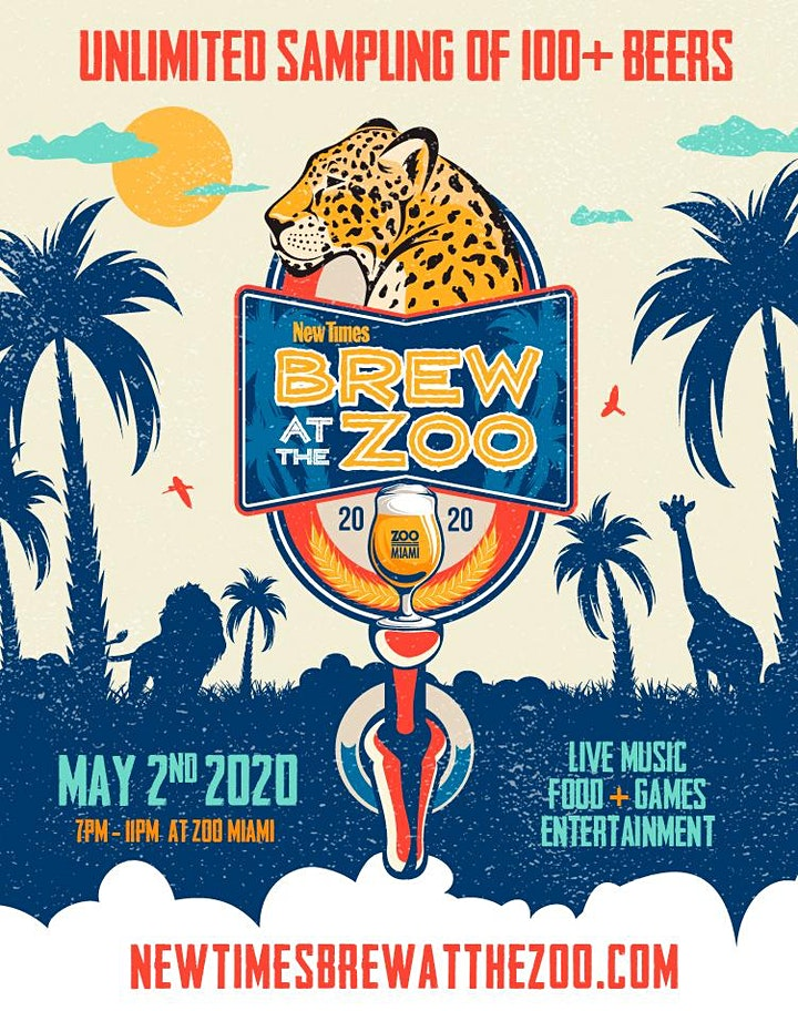 Brew at the Zoo 2020 Logo