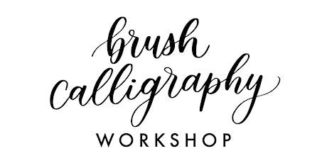 Brush Calligraphy Workshop tickets